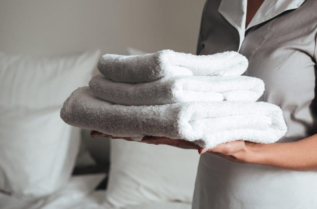 Servicio de habitaciones y de limpieza especial para COVID19